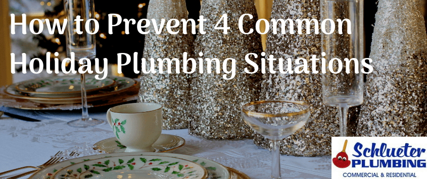Common Holiday Plumbing Situations
